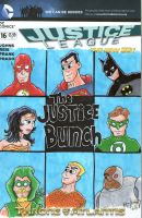 The Justice Bunch by johnnyism