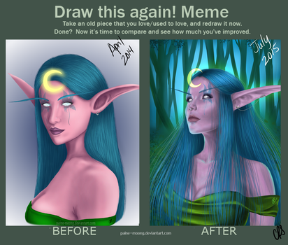 Before and After: Suki by Paine-Moon