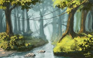 The brook by Medhi