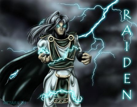 The Thunder God by metara