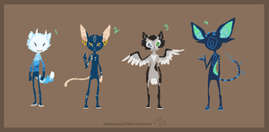 Feline Adopts 2 [CLOSED] by Adopt-Monstar