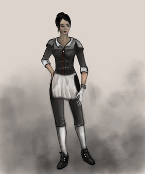 Dishonored maid by AttiosDenai
