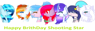 HBD Shooting Star (BFF) by WinterSporkle