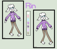 Rin |Reference sheets| |Undertale| by Charases