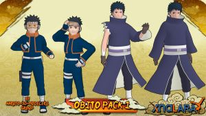 Naruto - Obito Uchiha PACK 1 FOR XPS by ASideOfChidori
