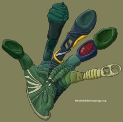 Reptile Grappling Device by timeleech
