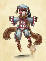 Prince Hodur Vatam ~ A playful troublemaker by Retro-Sushi