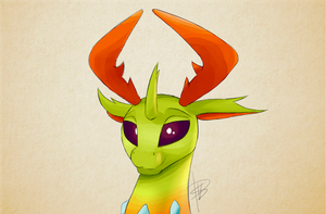 Thorax portrait by Mercurial64