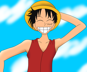 Luffy by Jenodragus