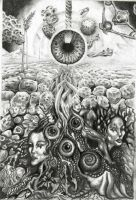 Flowing from the minds eye by knotty-inks