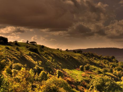 Crickley Edge by OliHDR