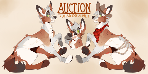 AUCTION - wanted: dead or alive by hex000000