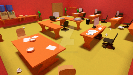 Red Office 4 by neilcorre2k6