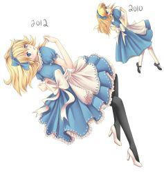Alice Redrawn by angelnablackrobe