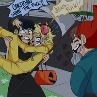 SP - Creek Halloween by MitarashiBoi