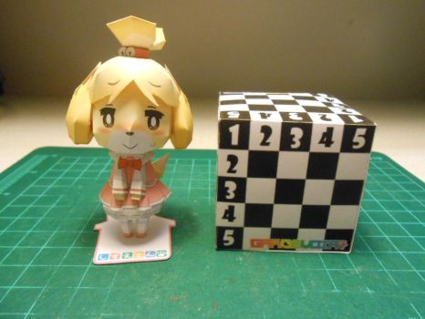 Isabelle/Marie/Shizue Papercraft by gardevoir7