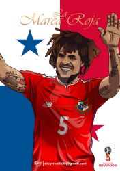 Panama - Roman Torres by dicky10official
