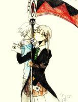 Maka and Soul by Amycah