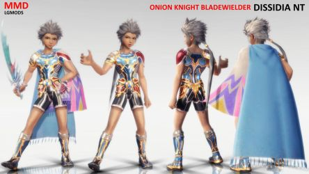 [MMD DL] DISSIDA NT : ONION KNIGHT - Bladewielder by LGMODS
