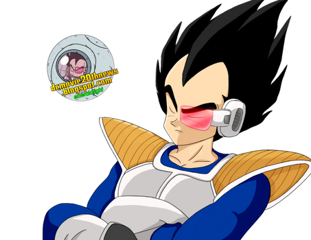 vegeta dbz render by EmeraldLighting