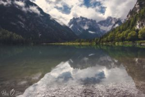 Lago di Landro @ Natural Park of Sesto Dolomites by Pod-Photography