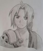 Edward Elric ~ Fullmetal Alchemist Brotherhood by Optimistic-Alpaca