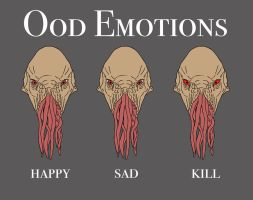 Ood Emotions by CVDart1990