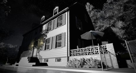 The Amityville Horror house by metonymic