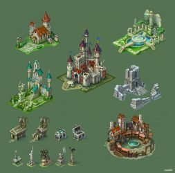 Buildings for game 4 by Jonik9i