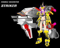 FEMME ACCRETIA STRIKER by JPL-Animation