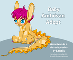 CLOSED Auction Summer Baby Adopt by iLantiis
