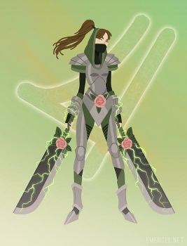 Sailor Jupiter: The Warrior by emengel