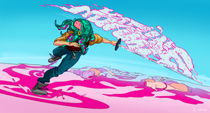 Charlie!? [Hotline Miami #1] by ephart