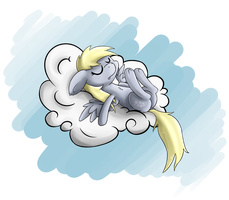 Sleepy Derpy by EROCKERTORRES