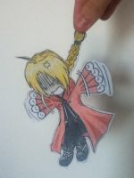 Edward Elric Paper Child by TayCosmo