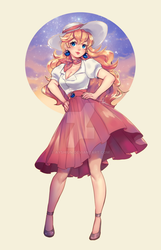[P] Fashion Peach by Ayshiun