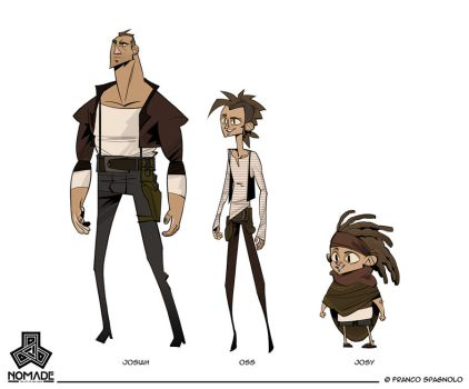 NOMADE - Character Design 01 by Spagnolo