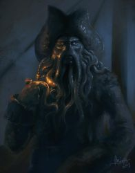 Davy Jones by TheMinttu