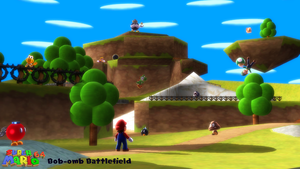 (MMD Stage) Bob-omb Battlefield (DS) Download by SAB64