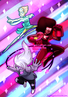 [for sale] Steven Universe: Crystal Gems by serpyra