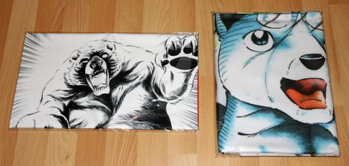 Ginga Nagareboshi Gin Towels by Satsuma1