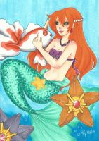 Mermaid Misty by chelleface90