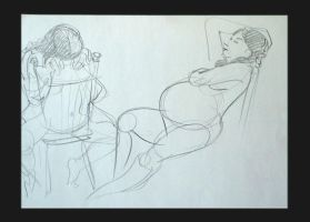 Life Drawing 111 by scratchmark