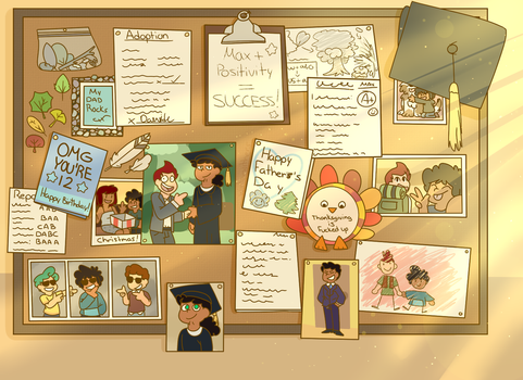 Board of Memories by Winterwithers
