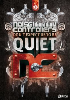 Noisecontrollers Poster by corecubedesign