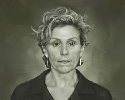 Frances McDormand Portrait Painting by timothysmithdesign