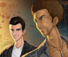 warrick and nick by csimiamiluver