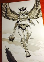 ~Hawkgirl~ by Harpokrates