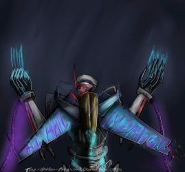 ALL HAIL MEGATRON by TheHiddenPredacon