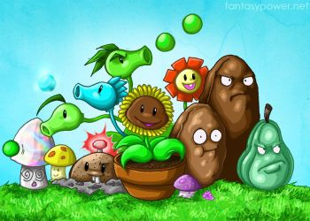 The Plants by sushy00
